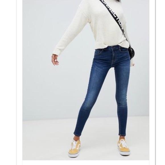 united states pretty nice cute cheap ASOS United Kingdom dark wash skinny jeans